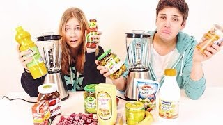 EXTREM SMOOTHIE CHALLENGE ! mit LifewithMelina