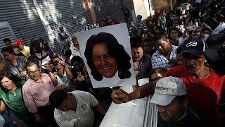 Гондурас. Столкновения студентов с полицией после смерти Берты Касерес