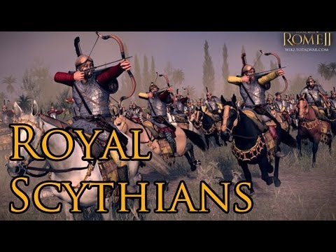 Total War: Rome 2 - Nomadic Tribes | Royal Scythians | Gameplay Preview [1080p/HD]