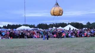 Nekoosa Giant Pumpkin drop 2016