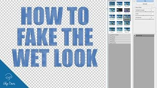 PHOTOSHOP TUTORIAL: How to Fake the Wet Look #44