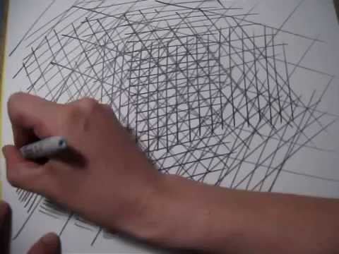 Drawing Lines In Photo : Saatchi art lines drawing by annette mewes thoms