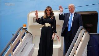 Quand Melania repousse la main de Donald