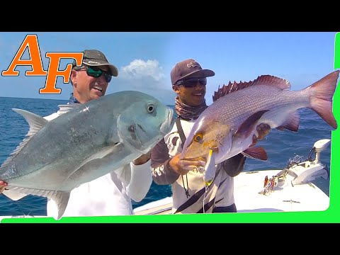 Catch and Cook Great Barrier Reef 100km out deep sea fishing report EP.397