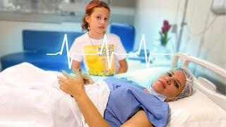 MÃE DA Valentina INTERNADA NO HOSPITAL