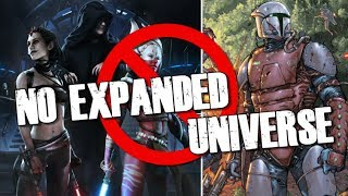No Expanded Universe for new Star Wars Trilogy :(