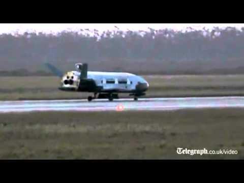 US shuttle returns after secret space mission