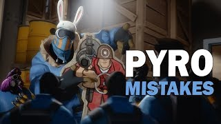 TF2 - 9 Pyro mistakes You should never make!