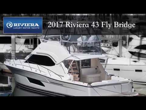 2017 Riviera 43 Fly Bridge Yacht
