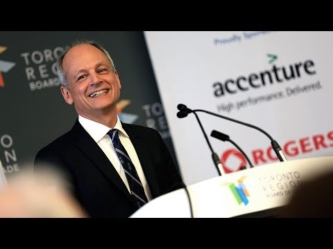 University of Toronto: President Meric Gertler at the Toronto Region Board of Trade