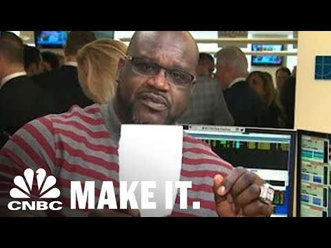 Shaquille O'Neal's Money Advice To Young People