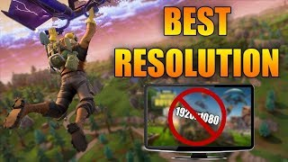 How To Get A Stretched Resolution In Fortnite (1440x1080) (Avanced Tips)