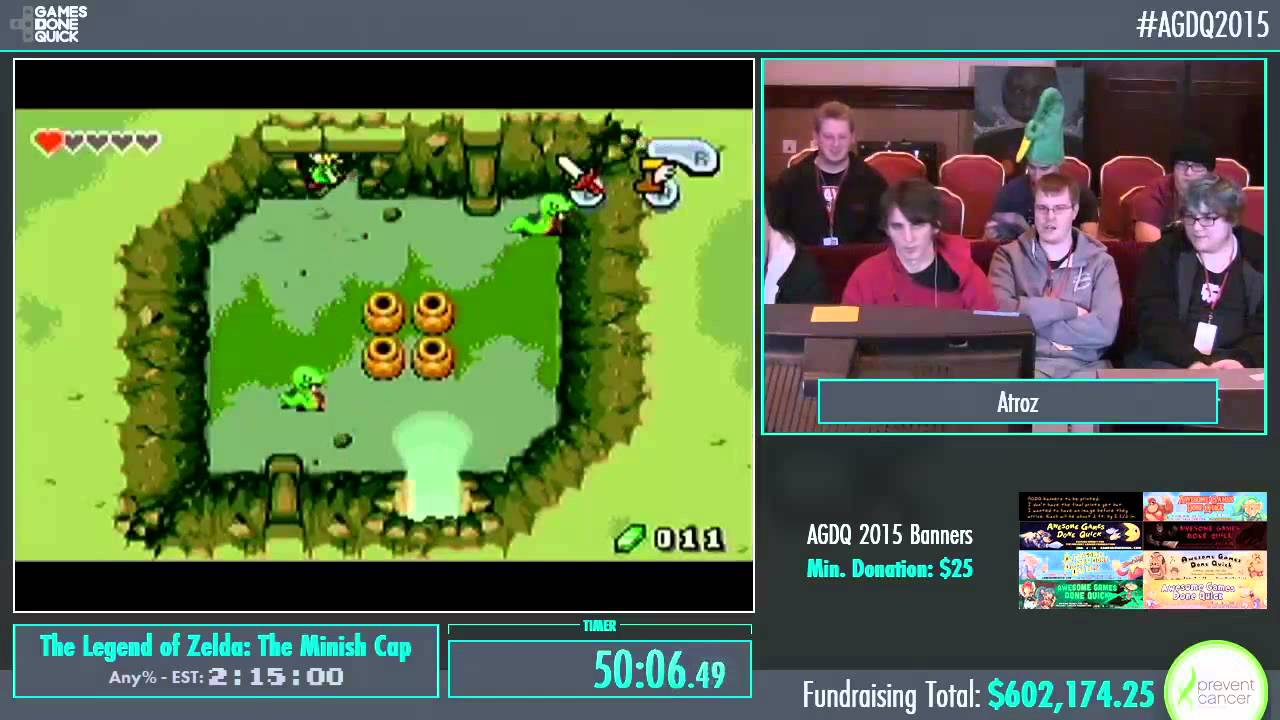 Awesome Games Done Quick 2015 Part 152 The Legend Of