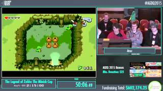 Awesome Games Done Quick 2015 - Part 152 - The Legend of Zelda: The Minish Cap by Atroz