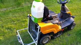 Opryskiwacz do traktorka kosiarki