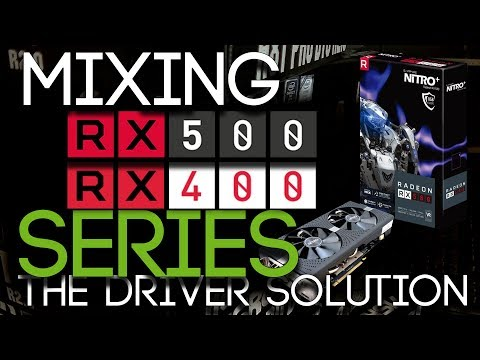 MIX RX470/480/570/580 Graphics Cards On Your Mining Rig