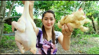 Yummy Chicken Stir Fried Ginger Recipe - Chicken Cooking - Cooking With Sros