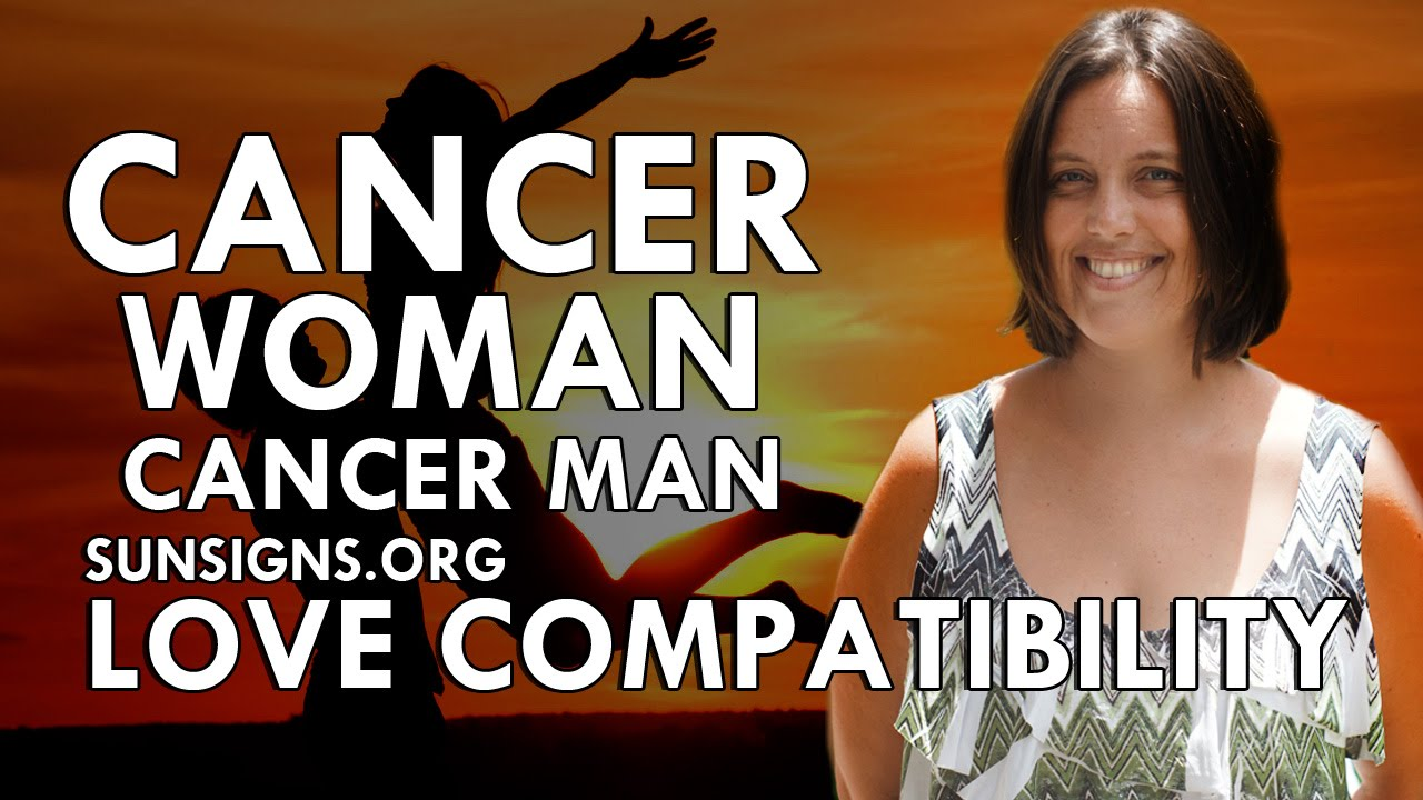 Cancer male and cancer female compatibility