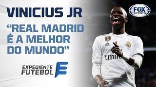 Em alta no Real, Vinicius Jr. tem empolgado até Edmundo