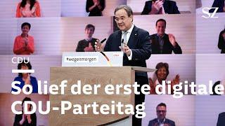 Parteitag im Netz: Die CDU kann auch digital