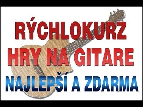 Akordy na gitaru - zkladn akordy pre zaiatonkov - ako