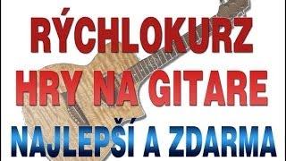 Gitarová Škola Hudby Online - kurz zdarma - Ako hrať na gitare akordy, rytmy a piesne