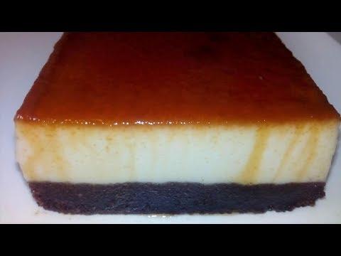 recette-du-gâteau-au-chocolat-flan-vanille-caramel-facile