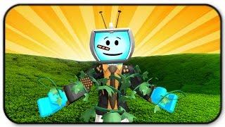 Roblox Elemental Battlegrounds - Grass Element Gameplay - Ist das Gras grüner auf der anderen Seite?