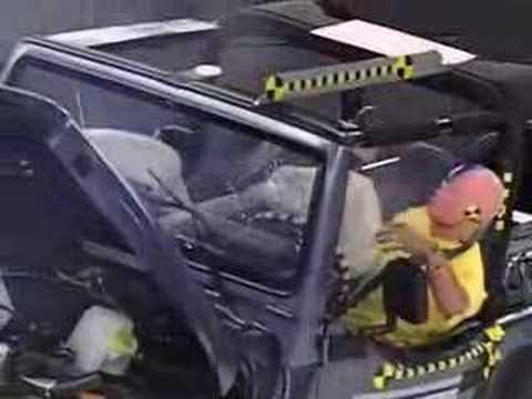Crash Test 1997  2006 Jeep Wrangler  Front  Side  IIHS  YouTube