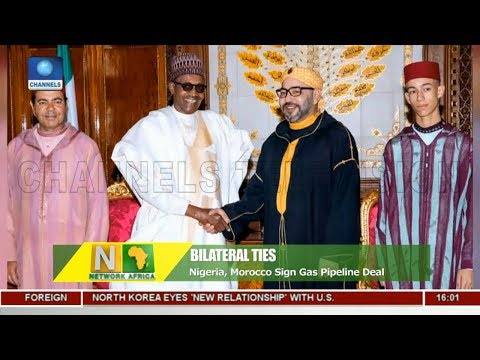 Nigeria, Morocco Sign Gas Pipeline Deal |Network Africa|