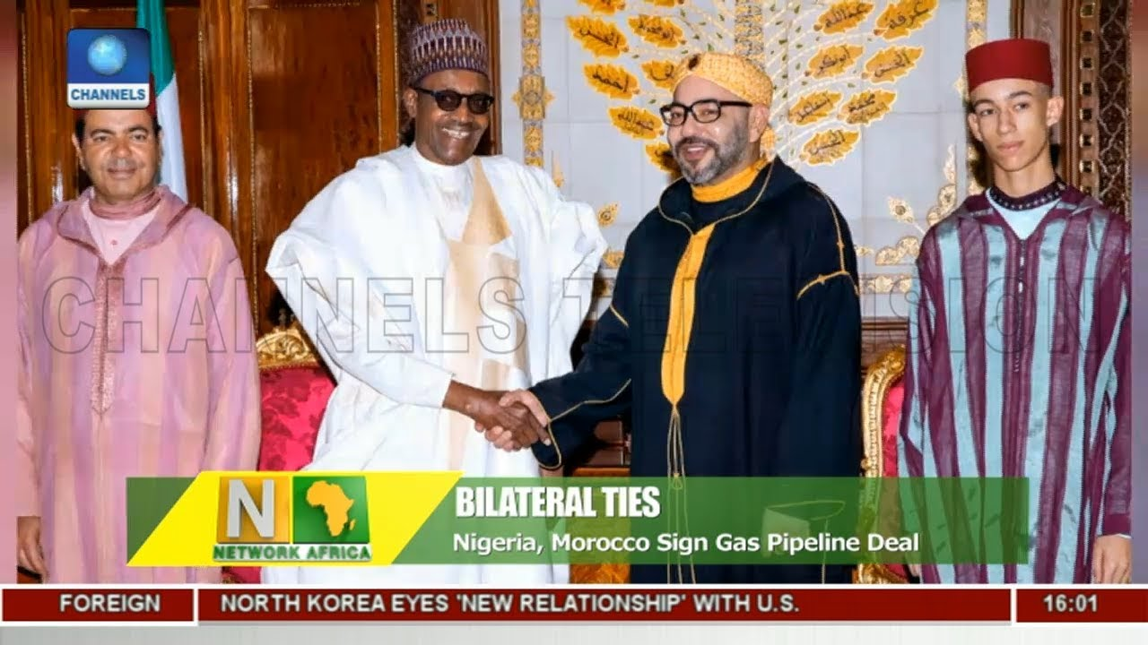 Nigeria, Morocco Sign Gas Pipeline Deal  Network Africa 