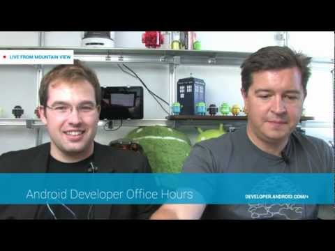 Android Developer Office Hours: Low-Level Media APIs