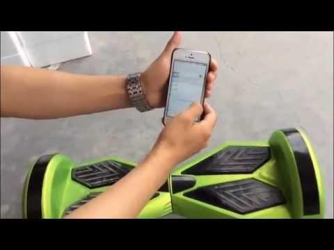 hoverboard x1 led bluetooth speaker test 1 youtube. Black Bedroom Furniture Sets. Home Design Ideas
