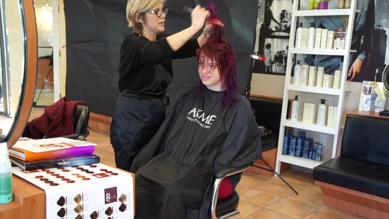 R Style Hair Studio: Heidi Hair Cut March 2017