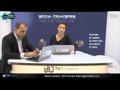 TV Finance : le multiplex des traders avec Hervé Lambert, Président de Vega-Traders