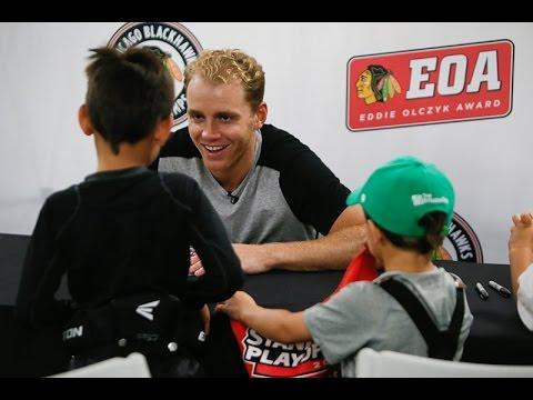 Kane surprises kids at youth camp