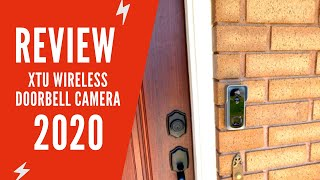 XTU Wireless Doorbell Camera with Chime Review | XTU Doorbell Camera Manual & Setup