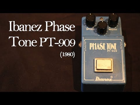 dating vintage ibanez pedals