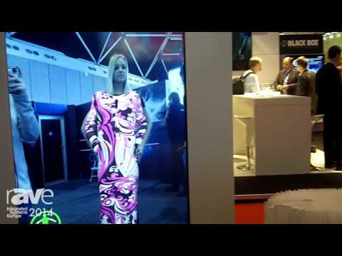 ISE 2014: Space3D Introduces Fashion 3D Display, Wear Virtual Garment Real Time