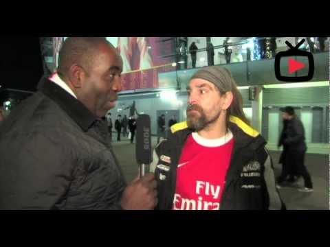 Fan Talk interview with Bully - Arsenal v Swansea - Arsenalfantv.com