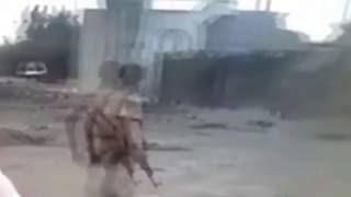 شاهد آثار التفجير الذي استهدف معسكر الصولبان في عدن في السادس من يوليو 2016م