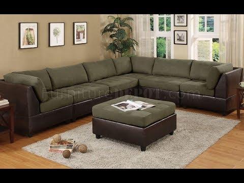 Plush Sectional Sofas