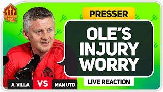 Solskjaer Press Conference Reaction! Aston Villa vs Manchester United