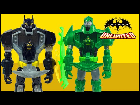 Batman Unlimited Mechs vs Mutants Bat-Mech & Green Arrow Mech Superheroes Battle