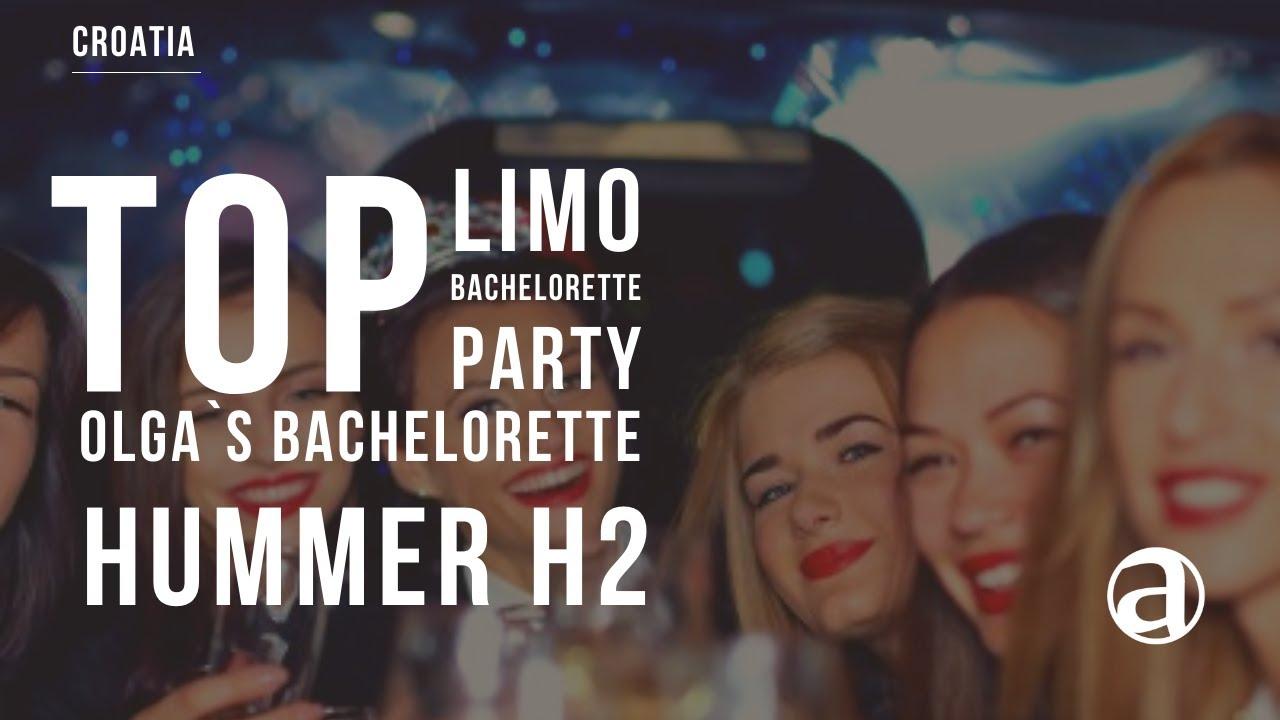 Olga s Bachelorette Party Zagreb Croatia Hummer H2 limo party