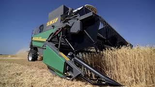 Комбайн SKIF 280 Superior на уборке зерновых