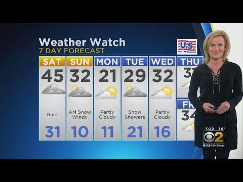 CBS 2 Weather Watch 5 P.M. 2/22/19 – Chicago Alerts