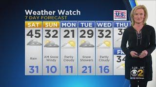 CBS 2 Weather Watch 5 P.M. 2/22/19