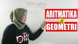 Matematika - Barisan Aritmatika Dan Geometri | Contoh Soal Dan Pembahasan