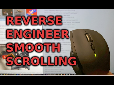 Reverse Engineering Logitech Smooth Scrolling and its Chrome